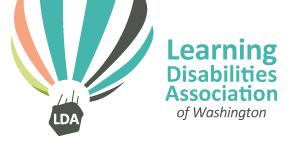 Learning Disabilities Association Washington Logo